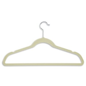 Wayfair Basics Velvet Touch Non-Slip Hanger (Set of 50)