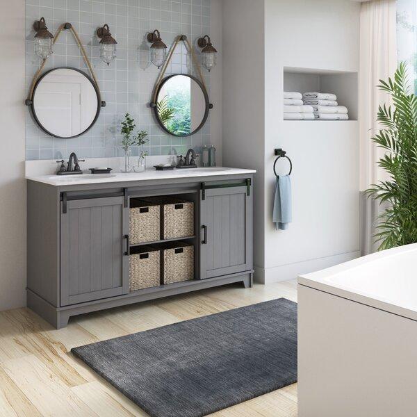 Barn Door Bathroom Vanity 24 Wayfair
