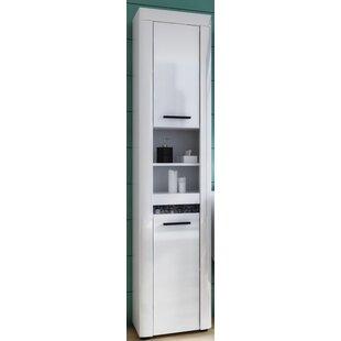 Napoleon 40 X 181cm Free Standing Tall Bathroom Cabinet By Metro Lane