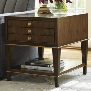 Lexington Tower Place Wentworth End Table with Storage