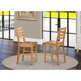 Songer Solid Wood Side Chair (Set of 2) by Charlton Home®