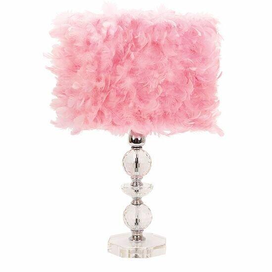 Crystal Tower Table Lamp | Wayfair