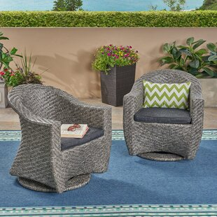 Best Gaviota Patio Chairs with Cushions (Set of 2) Online