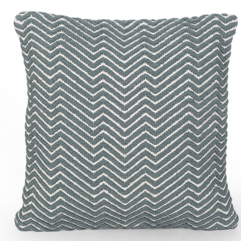 Foundry Select Betty Cotton Geometric 18 Throw Pillow Cover Wayfair