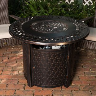 Wagner Aluminum Propane Fire Pit Table