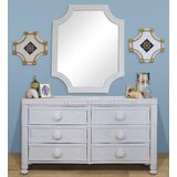 Mayra 6 Drawer Double Dresser with Mirror by Bayou Breeze