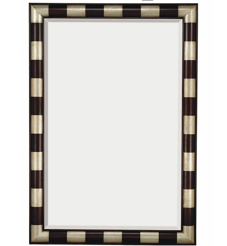 Wayfair Wall Mirrors majestic mirror large modern rectangular wood framed beveled glass