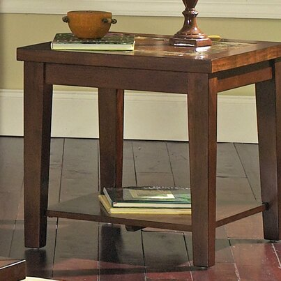 Steve Silver Furniture Davenport End Table Reviews Wayfair