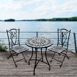 Aldwell 3 Piece Bistro Set