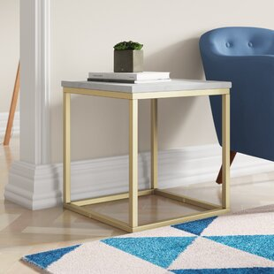 Marble Square Coffee Table By Mercury Row
