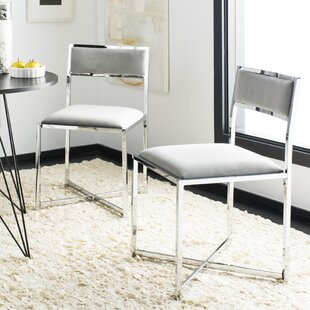 Budget Yong Upholstered Dining Chair (Set of 2) by Orren Ellis Reviews (2019) & Buyer's Guide