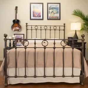 Marksburg Panel Bed by Benicia Foundry..