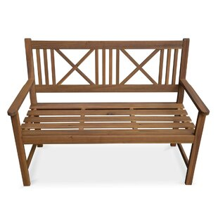 Darfur Wooden Traditional Bench By Sol 72 Outdoor