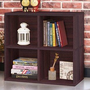 Ebern Designs Skye Quad Cube Unit Bookcase