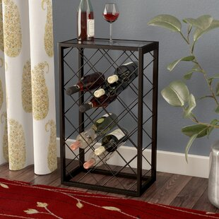 Red Barrel Studio Medlin 23 Bottle Floor Wine Rack