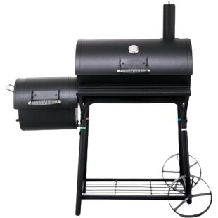 126cm Rivera Charcoal Barbecue By Sol 72 Outdoor