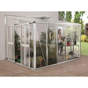 Helena 2.7m W X 3.3m D Mini Greenhouse By WFX Utility