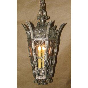 Laura Lee Designs Amsterdam 3-Light Outdoor Hanging Lantern