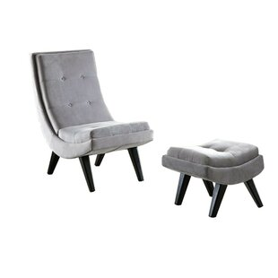 Avianna Lounge Chair by Everly Quinn