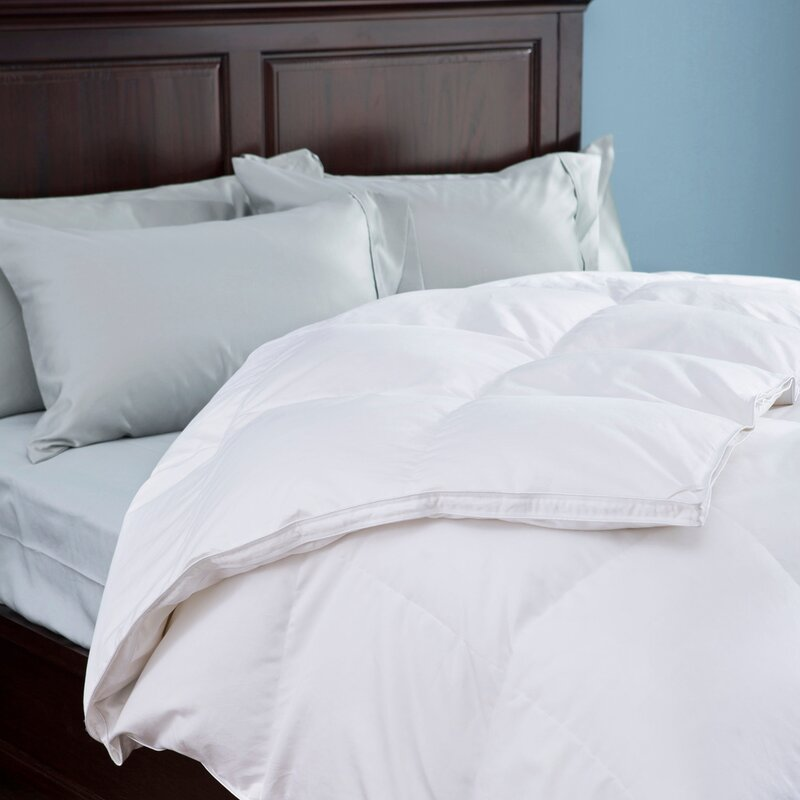goose comforters home smart luxurious thread overview comforter review count down
