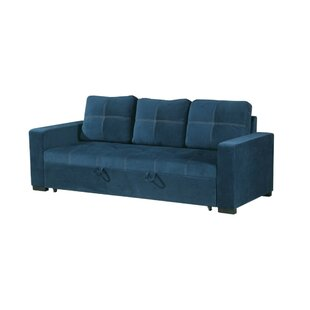 Lusher Polyfiber Fabric Convertible Sofa