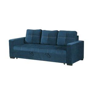 Lusher Polyfiber Fabric Convertible Sofa by Latitude Run