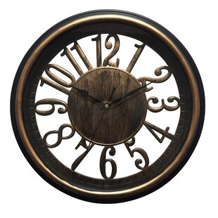 Review Panella Antique 13 Wall Clock by Bloomsbury Market