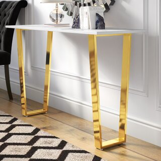 "Germana 48"" Console Table by Willa Arlo Interiors SKU:BC821788 Price Compare"