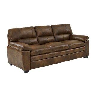 Albritton Leather Sofa by Red Barrel Studio SKU:CC446244 Reviews