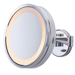 Halo Wall Mount Lighted Mirror Jerdon