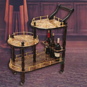 Fields 3-Tier Bar Cart