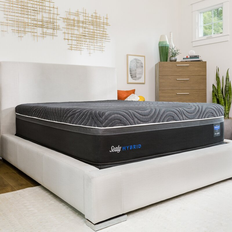 Sealy Hybrid Premium Silver Chill Cooling 14 Firm Mattress And 5
