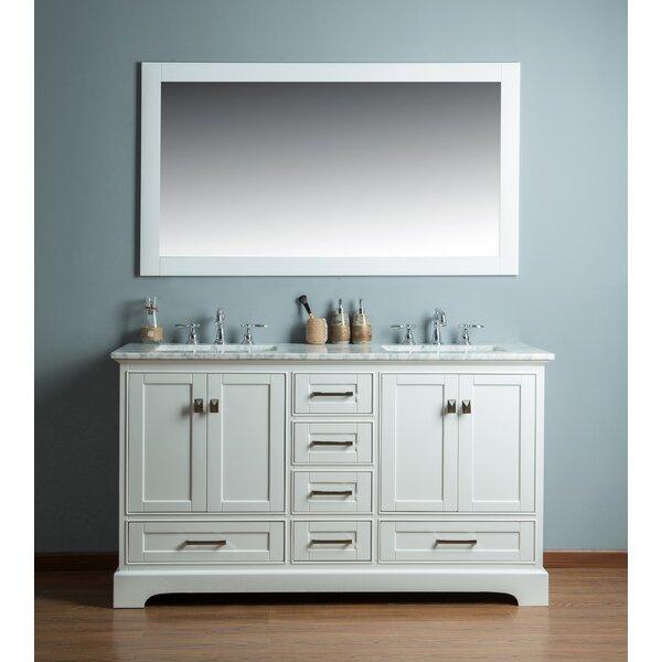 Stian 60 Double Sink Bathroom Vanity Set