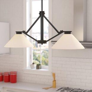 Ebern Designs Naccarato 2-Light Kitchen Island Pendant