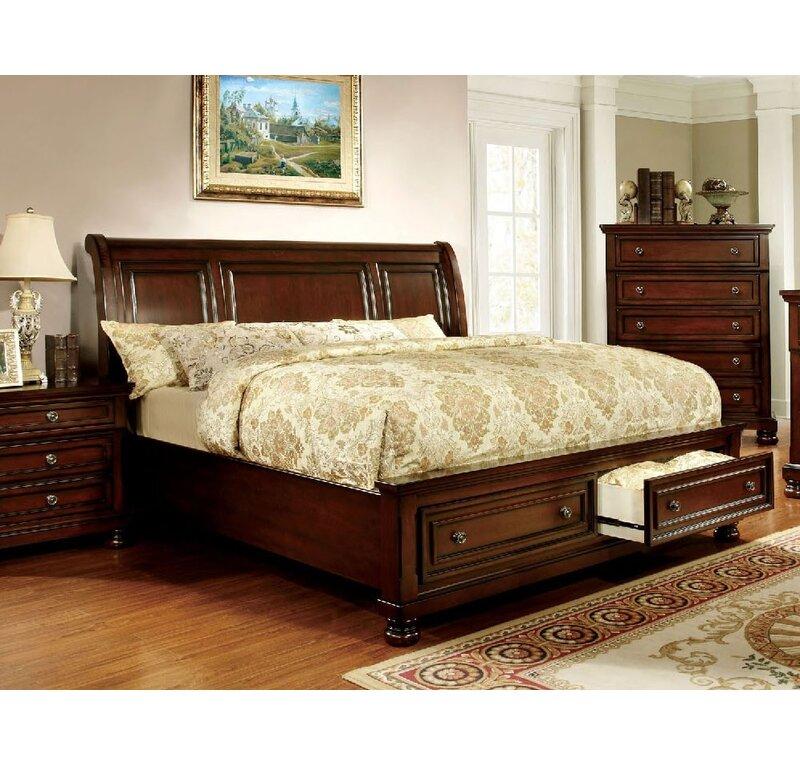 Astoria Grand Giordano Platform Configurable Bedroom Set Reviews