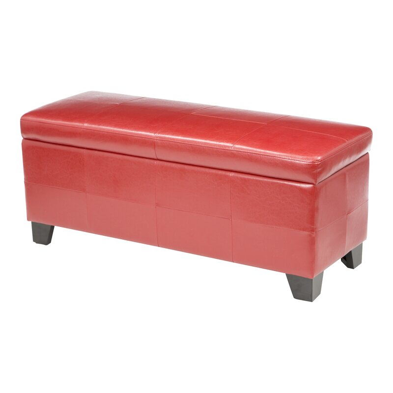 West Seattle Upholstered Storage Bench