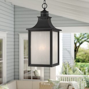 Laurel Foundry Modern Farmhouse Kennett 3-Light Outdoor Hanging Lantern