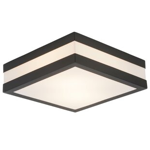 Ailish 2-Light Outdoor Flush Mount By Sol 72 Outdoor