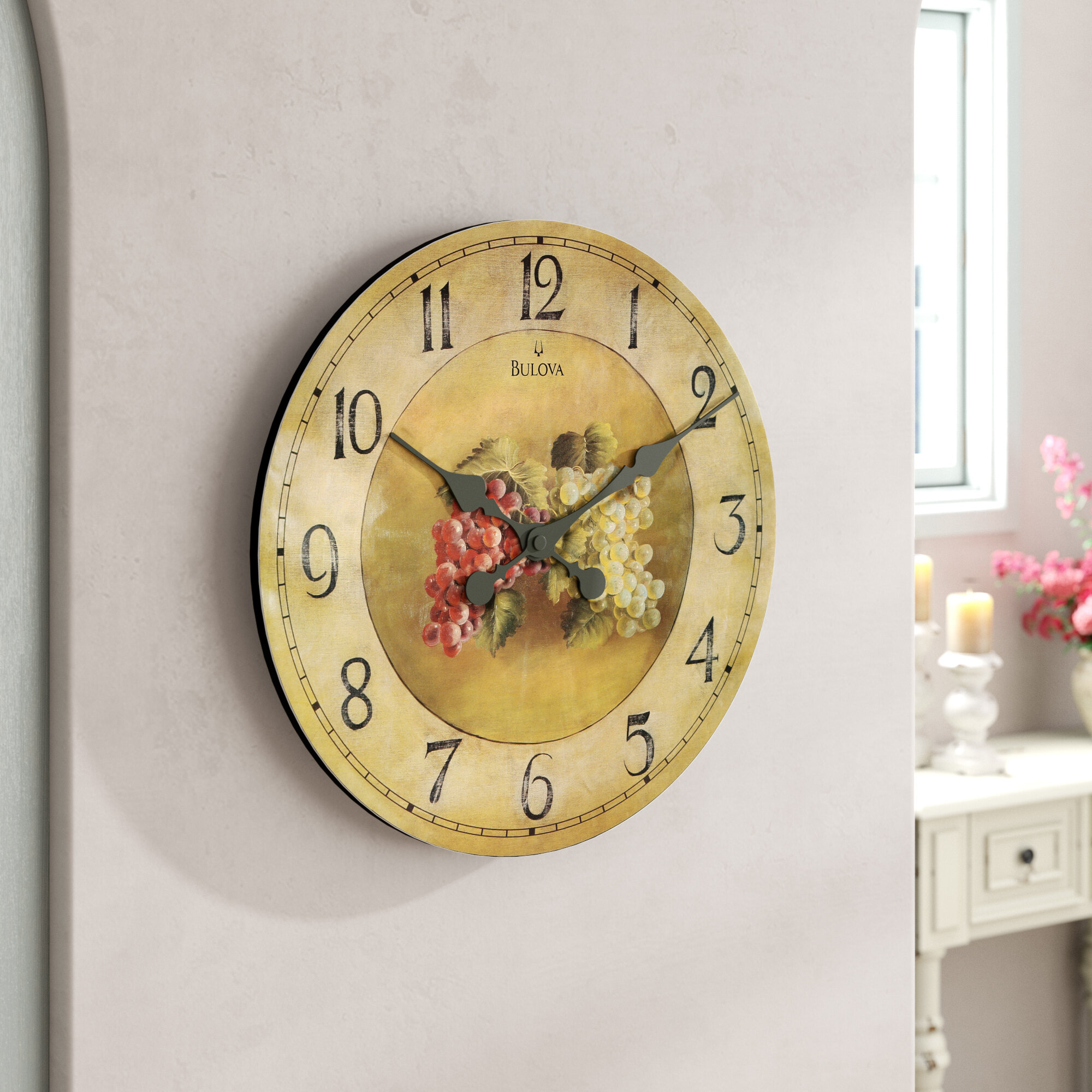One Allium Way Eldora 18 Wall Clock
