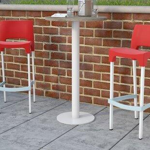 Bunburry Solid Wood Bar Table by Latitude Run