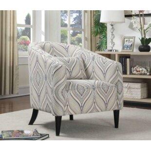 One Allium Way Alfhild Barrel Chair