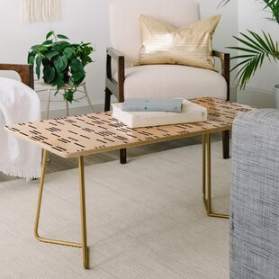 Holli Zollinger Bogo Mudcloth Coffee Table by East Urban Home