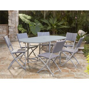Lybarger 7 Piece Dining Set by Charlton Home