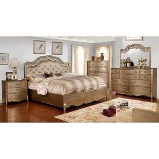 Mireya Upholstered Panel Bed