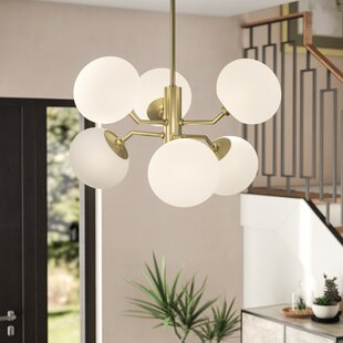 Brayden Studio Gideon 6-Light Shaded Chandelier
