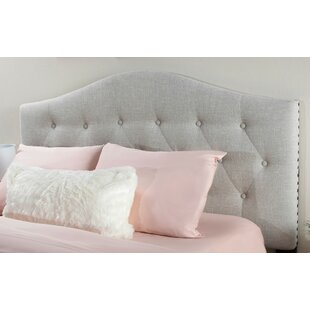 Rosecliff Heights Anguila Upholstered Panel Headboard