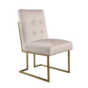 Greenwich Velvet Upholstered Dining Chair..