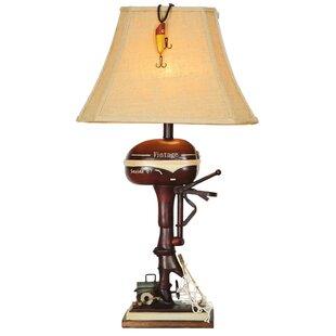 Joy Boat Motor 32 Table Lamp