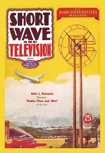 Buyenlarge Short Wave And Television Radio And Airplanes By Hugo Gernsback Vintage Advertisement Wayfair