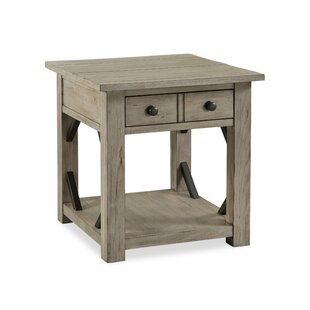 Arria End Table by Gracie Oaks
